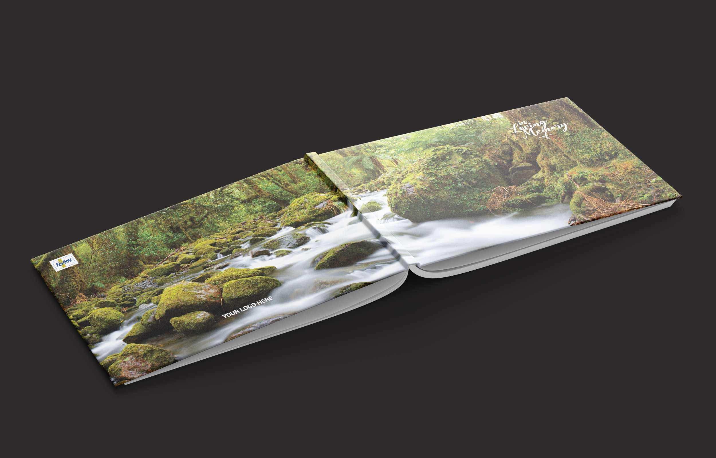 Book Covering Nz ~ New zealand bush cover in loving memory of